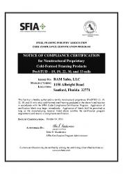 SFIA Compliance